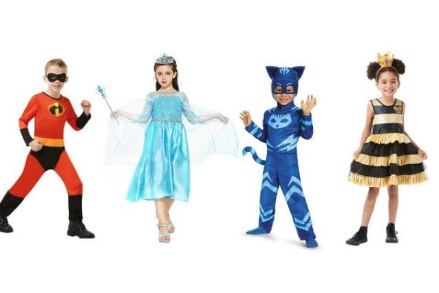 costume di carnevale Elsa di Frozen